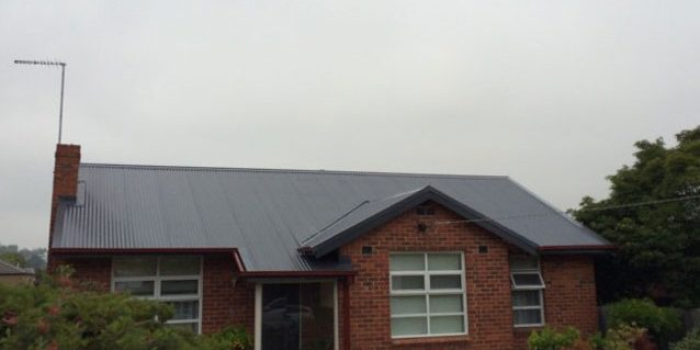 Roof Replacement - Tile to Colorbond (completed) - Balwyn (image)
