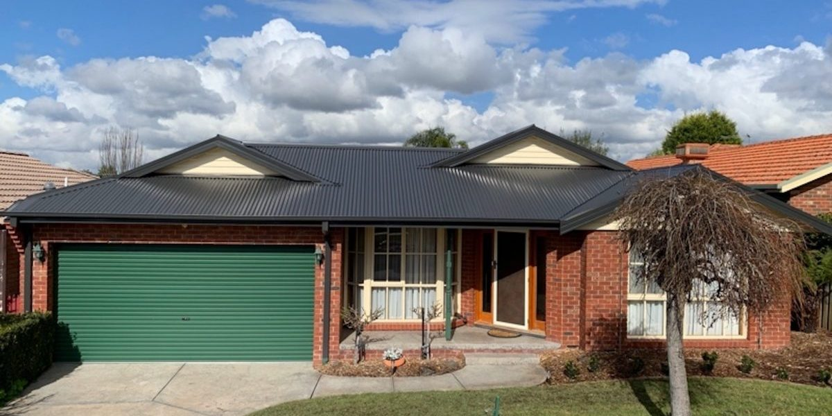 Tile to metal reroof Knoxfield - After (image)