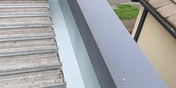 Zincalume box gutter install - Clayton South